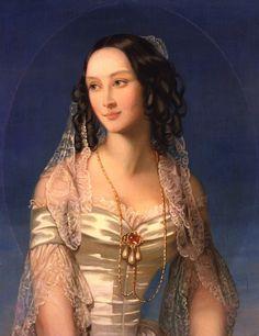 1840s Duchess Zinaida Yussupova by Christina Robertson