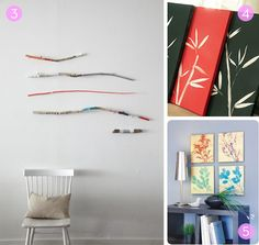 Roundup: Nature-Inspired DIY Wall Art Projects » Curbly | DIY Design Community