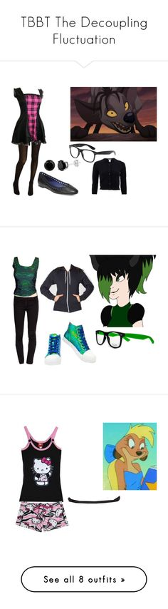 """""""TBBT The Decoupling Fluctuation"""" by brainyxbat ❤ liked on Polyvore featuring BANZAI, Cole Haan, Oscar de la Renta, Diane Von Furstenberg, American Apparel, Luichiny, Hello Kitty, Hollister Co., Hot Topic and Lush"""