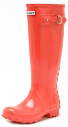 hunter boots .. the only rain boots i think are cute.