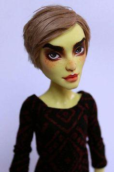 Monster High Boys, Monster High School, Custom Monster High Dolls, Monster High Repaint, Custom Dolls, Ooak Dolls, Art Dolls, Barbie, Doll Painting