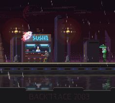 "Indie scifi game in progress: ""Backtrace 2083"" Follow for updates @stateoffgames"