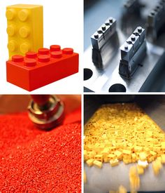 Lego brick making