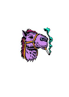 A donkey as a substitute of a 🐫 Tattoo Sketches, Tattoo Drawings, Art Drawings, Tattoos, Graffiti, Psychedelic Drawings, Posca Art, Dope Art, Cartoon Art