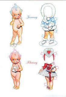 Holiday Cupies  January & February