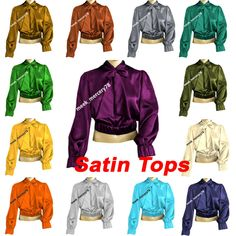 Satin Shirt Vintage wear satin Bow Shirt Office wear party wear Bow Blouse S 27 Bow Tie Shirt, Bow Shirts, Satin Shirt, Bow Blouse, Vintage Wear, Blouse Vintage, High Neck Shirts, Casual Office Wear, Girls Party Wear