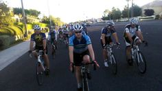 Start of the Saturday Challenge Ride - Great crew to ride with!  #cycling #vegas #BLVSaturdayChallenge  http://www.bikinglasvegas.com/pics-and-videos/by-tag/june+28+2014.html