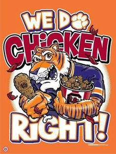 Gamecocks Talking about Owning Clemson In- State recruiting Clemson Paw, Clemson Football, College Football Teams, Clemson Tigers, Auburn Tigers, Football Pics, Tiger Love, Tiger Girl, Tiger Paw