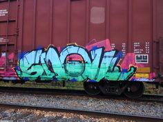 Montreal / Freights Graffti. Let your mind be blown away by high quality street art pictures from around the world.