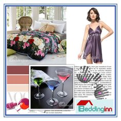 """Beddinginn.com 16"" by djulovic-mirela ❤ liked on Polyvore featuring interior, interiors, interior design, home, home decor, interior decorating, Roksanda Ilincic and Beddinginn"