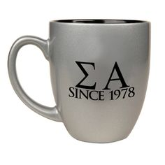 Sigma alpha mug from Greek gear