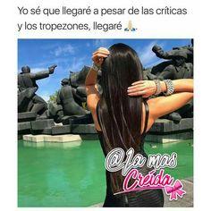 #Mujer #creida #unica #niña #yo @lamascreida
