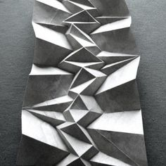 Mr. Start - Mountainous Origami