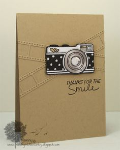 like this clean and simple design a lot...really like the look of the kraft die cut on the kraft paper...