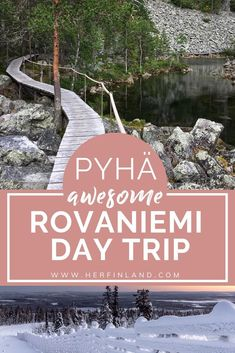 Make a Pyhä Lapland day trip and discover the magical fell wilderness in Pyhä, just hours away from Rovaniemi! Finland Destinations, Holiday Destinations, Travel Destinations, Finland Summer, Finland Travel, Lapland Finland, Bus Travel, Hawaii Travel, Visit Santa