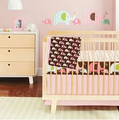 Skip Hop Pink Elephant Complete Sheet Set - Best Price