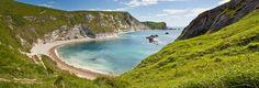 England, Man o' War Beach, St Oswald's Bay Near Durdle Door