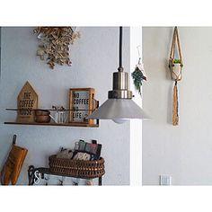見せる収納/キッチン/コーヒーミル/KARITA/コーヒーのある暮らし...などのインテリア実例 - 2019-12-11 11:01:45 | RoomClip(ルームクリップ) Ceiling Lights, Lighting, Home Decor, Decoration Home, Room Decor, Lights, Outdoor Ceiling Lights, Home Interior Design, Lightning