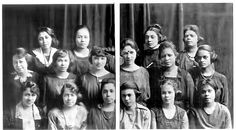 Members of Beta Chapter (University of Chicago) of Alpha Kappa Alpha Sorority Incorporated - March, 1921