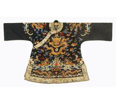Embroidered Dragon Robe