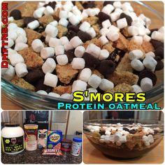 Smores Protein Oatmeal