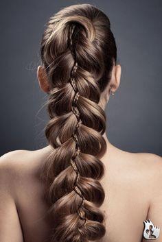 Yrsa´s Haare aber eigentlich kupferrot
