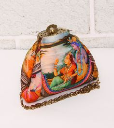 PeeBee's is a fresh, vibrant, & quirky range of designer bags - eye candy that simply breaks boring. Indian Accessories, Bridal Clutch, Yellow Print, Party Bags, Clutches, Eye Candy, Arm, Satin, Shoulder Bag