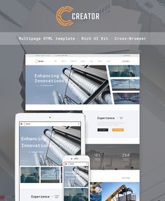 Civil Engineering Website Template