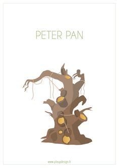 Biollywood - Peter Pan (1953) #biollywood #plant #minimal #movie #peterpan