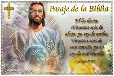 Vidas Santas: Santo Evangelio según san Juan 8:23