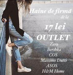 Oferta Haine de firma – outlet online Haine online – ATLANTICA | Outlet online haine de firma Atlantica va ofera o gama larga de haine online pentru femei – rochii, bluze, tricouri, pantaloni, fuste – de la branduri renumite. In plus, puteti gasi o selectie de obiecte de decor interior si accesorii. ATLANTICA.RO Similare