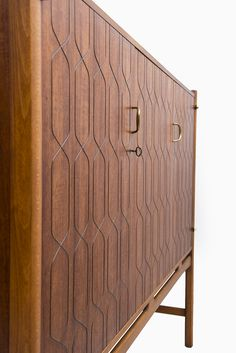 David Rosén cabinet in teak by Nordiska Kompaniet, more David Rosén furniture at Studio Schalling #midcentury #retro #teak