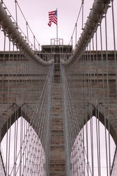 Brooklyn Bridge…think i was the only one speaking English on this adventure across...