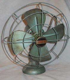 Vintage Singer Cooling fan by BoondockFinds on Etsy