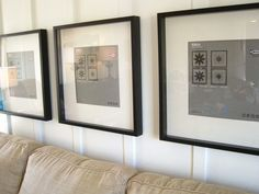 How to Hang Picture Frames So They're Level and Straight