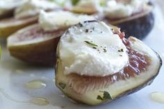 Figs with Macadamia Cheese