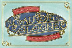 Eau De Cologne by Vintage Voyage Design Co. on @creativemarket