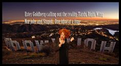 Support Ester Goldberg creating COMEDY- WEBSERIES AND LIVE ENTERTAINMENT