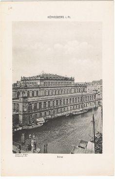 """KÖNIGSBERG / OSTPREUSSEN """"BÖRSE um 1900"""