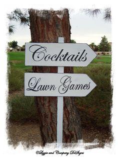 cocktails & lawn games