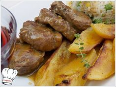 grey10 Greek Recipes, Meat Recipes, Cooking Recipes, Healthy Recipes, The Kitchen Food Network, Pork Tenderloin Recipes, Different Recipes, Cooking Time, Food Network Recipes