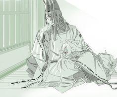 「小狐見てご覧 あんなに参拝者が」 Anime Love, Anime Guys, Manga Art, Anime Art, Hikaru No Go, Touken Ranbu Characters, Bishounen, Manga Characters, Manga Games