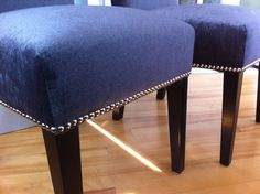How to Keep Your Studs In Line (some upholstery advice)