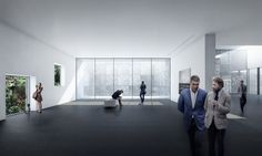 Architectural Visualization - Exhibition White Space