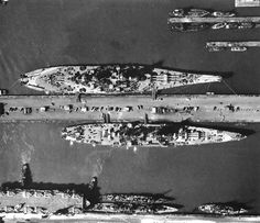 USS Missouri and USS Alaska