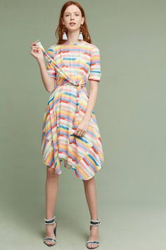65a95715e3 Shop the Carrie Tie-Waist Dress and more Anthropologie at Anthropologie  today. Read customer