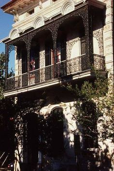 Lanaux Mansion in New Orleans, Louisiana