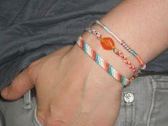 Trio de bracelets brésiliens