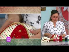 Espazio Ideal 11 de Septiembre 2017 - YouTube Cathedral Window Quilts, Cathedral Windows, Christmas Decorations, Christmas Ornaments, Christmas Projects, Twinkle Twinkle, Quilt Blocks, Santa, Lily