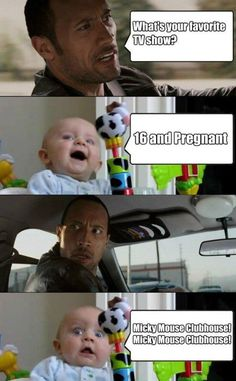 #TheRock #baby #funny
